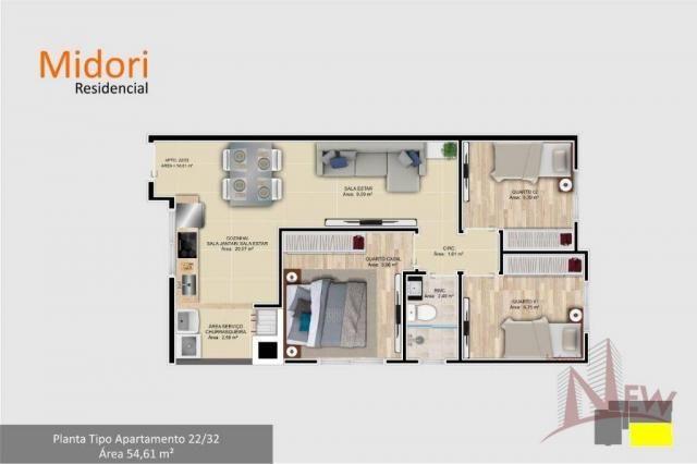 Apartamento 03 quartos no Parque da Fonte, São José dos Pinhais - Foto 10