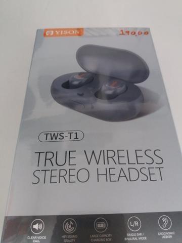 Fone de ouvido tws earbuds novo na embalagem