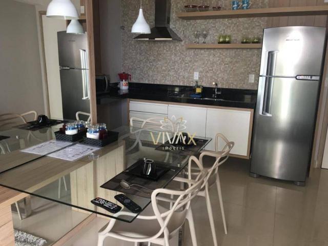Flat com 1 dormitório à venda, 43 m² por R$ 360.000 - Ponta Negra - Natal/RN - Foto 4