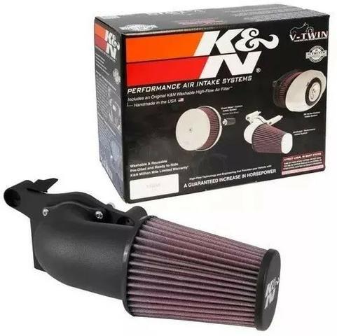 Kit Completo Filtro Ar K&n 63-1138 Harley - Foto 3