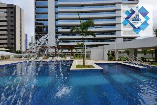 Apartamento alto padrão, 226m² com 4 suítes no Bairro do Meireles. - Foto 19