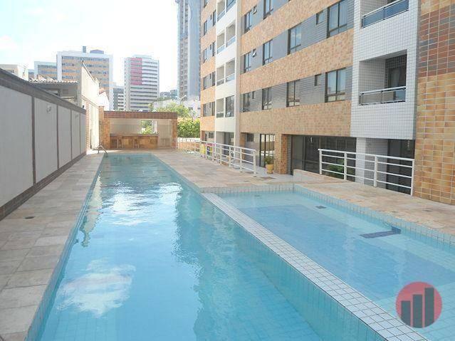 Apartamento com 3 dormitórios para alugar, 63 m² por R$ 1.900/mês - Mucuripe - Fortaleza/C - Foto 7