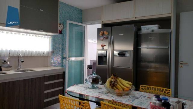 Casa no Alphaville Fortaleza com 4 dormitórios à venda, 310 m² por R$ 1.800.000 - Cararu - - Foto 4