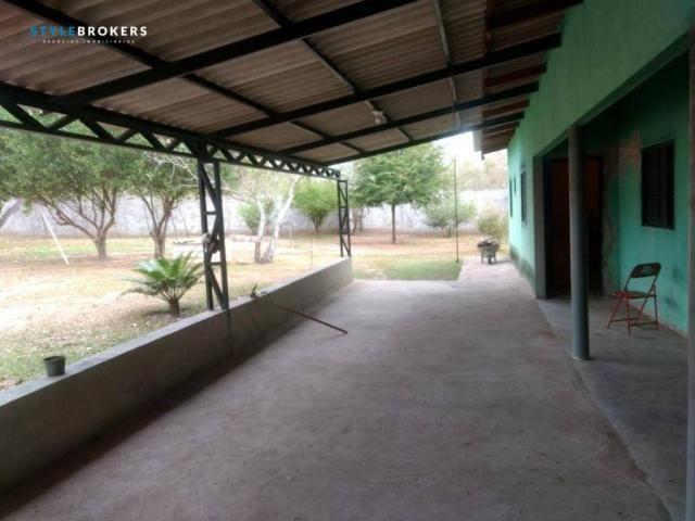 Chácara no Pai André com 1 dormitório à venda, 5100 m² por R$ 200.000 - Pai André - Várzea - Foto 10