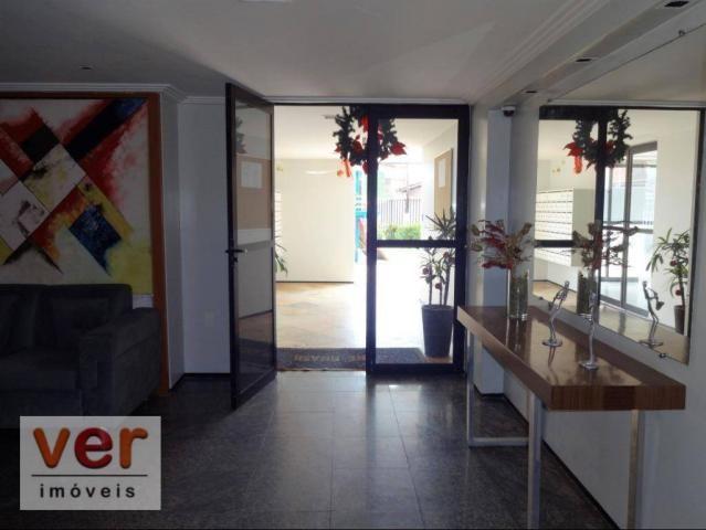 Apartamento com 3 dormitórios para alugar, 74 m² por R$ 800,00/mês - Messejana - Fortaleza - Foto 9