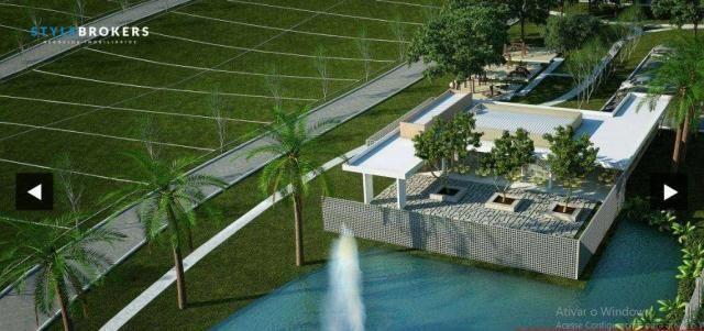 Terreno no Condomínio Florais da Mata à venda, 405 m² por R$ 150.000 - Bairro Chapéu Do So - Foto 2