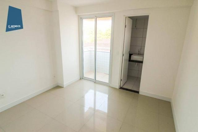 Apartamento para alugar, 105 m² por R$ 2.300,00/mês - Jardim das Oliveiras - Fortaleza/CE - Foto 16