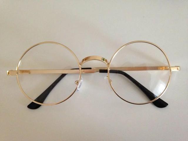 76f702b18a467 Armação para óculos de grau redondo estilo Harry Potter LEIA TODO O ANÚNCIO