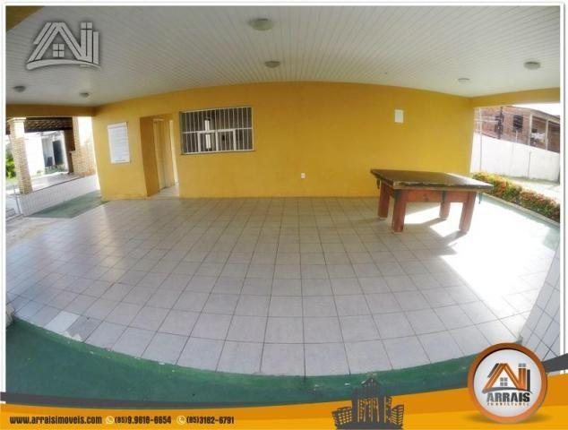 Apartamento com 3 dormitórios à venda, 70 m² por R$ 240.000,00 - Montese - Fortaleza/CE - Foto 3