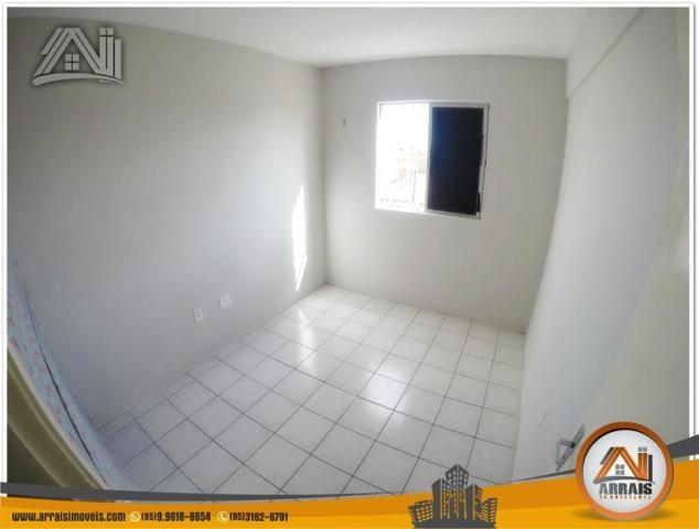 Apartamento com 3 dormitórios à venda, 70 m² por R$ 240.000,00 - Montese - Fortaleza/CE - Foto 9