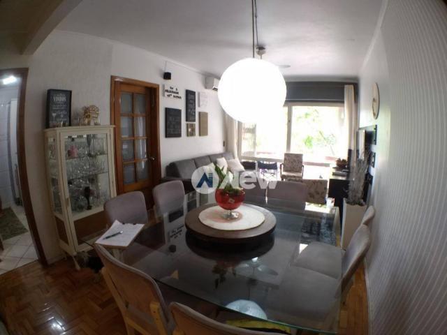 Apartamento com 3 dormitórios à venda, 97 m² por r$ 349.000 - guarani - novo hamburgo/rs