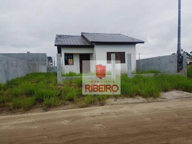 Casa com 3 dormitórios à venda, 69 m² por R$ 215.000 - Nova Divinéia - Araranguá/SC - Foto 3
