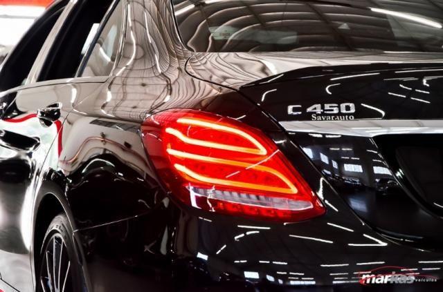 Mercedes C 450 C450AMG4M 367HP TETO 36 MIL KM 4P - Foto 16