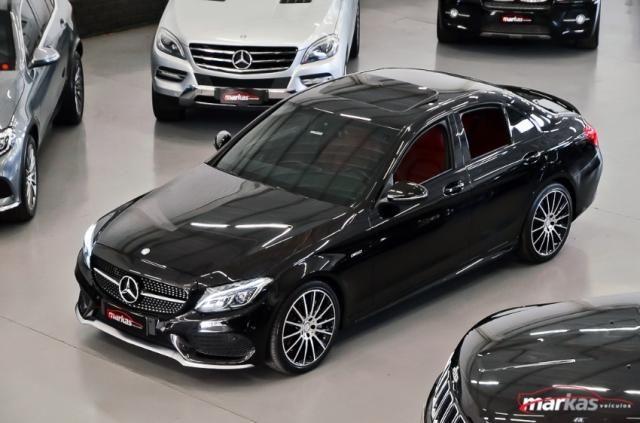 Mercedes C 450 C450AMG4M 367HP TETO 36 MIL KM 4P - Foto 4