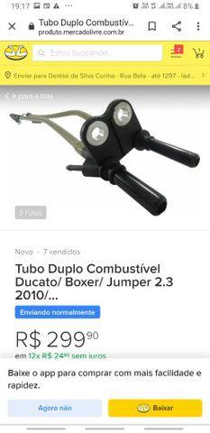 Kit completo correia dentada' kit alternador e corrente comando fiat ducato  - Foto 4