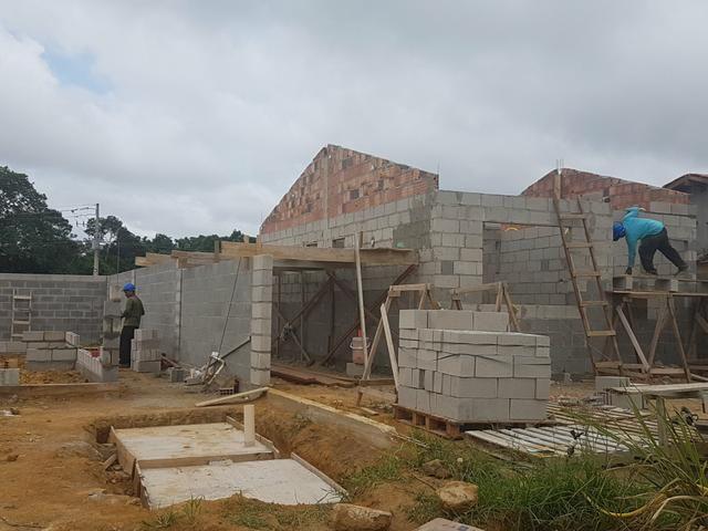 Sua casa com apenas R$ 499,00 de entrada saia logo so aluguel - Foto 2