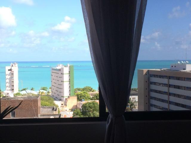 Apartamento Quarto e Sala com vista para o mar de Pajuçara. - Foto 10