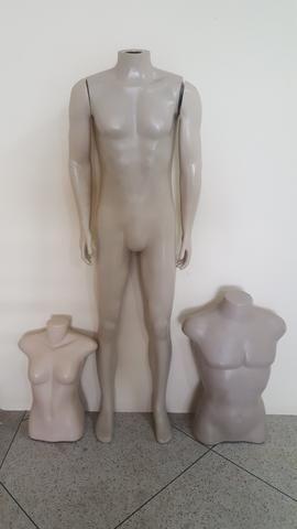 3x Manequins