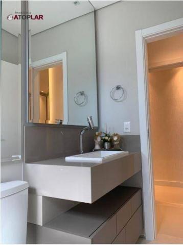 Apartamento garden com 3 dormitórios à venda, 208 m² por r$ 1.230.000,00 - pioneiros - bal - Foto 16