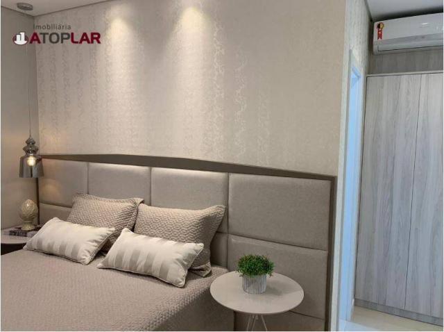 Apartamento garden com 3 dormitórios à venda, 208 m² por r$ 1.230.000,00 - pioneiros - bal - Foto 20