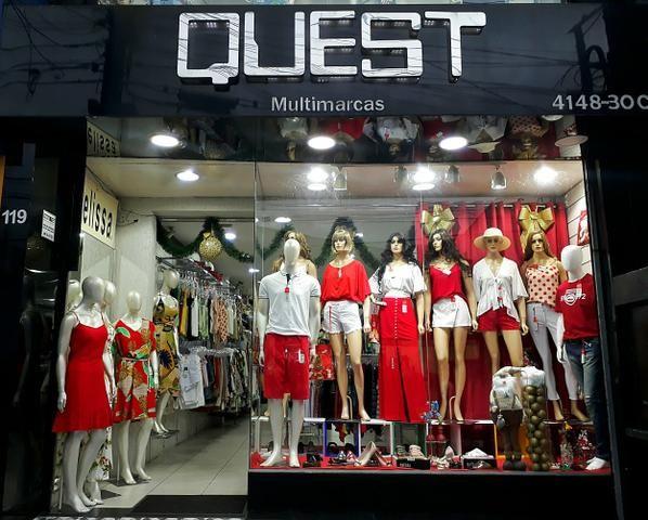 Vendo Loja de roupas Masc. e Fem. calçados e acessorios completa