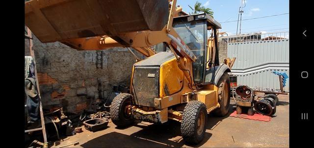 PA Carregadeira Case 580 M 4x2 Ano 2010 (100% de procedência boa) - Foto 4