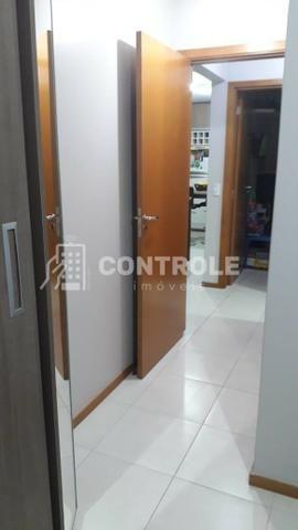 (W) Apartamento 02 dormitórios semi-mobiliado, em Jardim cidade, São José. - Foto 2