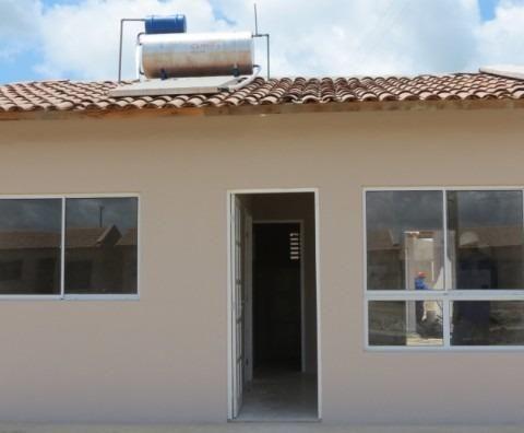 Casa murada no Conj. Antônio Lins de Souza