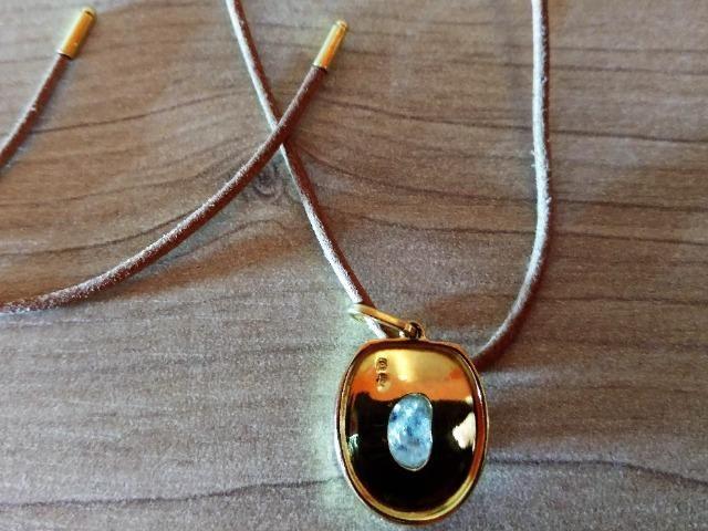 Pedra de coleção, pendente de ouro - Foto 6