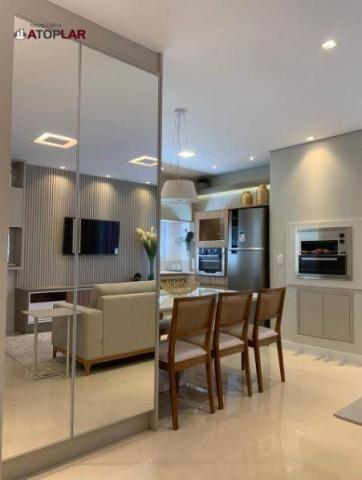 Apartamento garden com 3 dormitórios à venda, 208 m² por r$ 1.230.000,00 - pioneiros - bal - Foto 4
