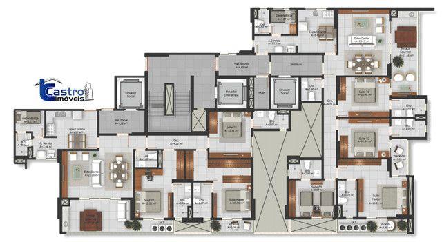 Seven Residence. 3 Suítes. 2 Vagas. (Reve. 14) - Foto 15