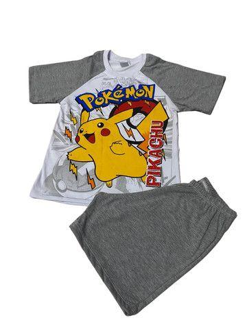 Pijama Infantil Pokemon - Calor - Foto 2