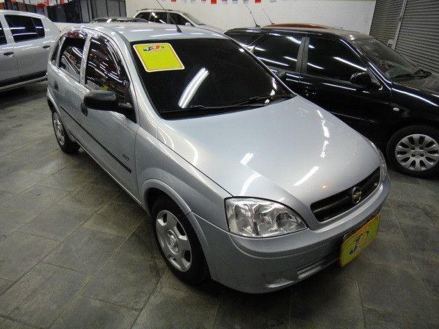 Chevrolet Corsa Maxx 1.4 8v Flex Completo 2010 Prata