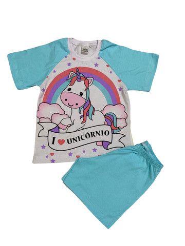 Pijama Infantil Unicórnio - Foto 2
