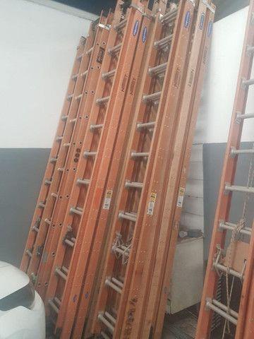 Escada extenciva em fibra e Almino 500REAIS  - Foto 5