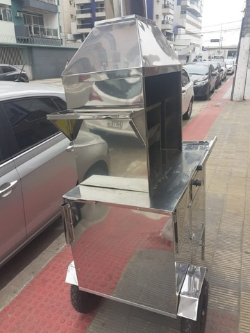 Carrinho de churrasco novo zero km barato - Foto 4