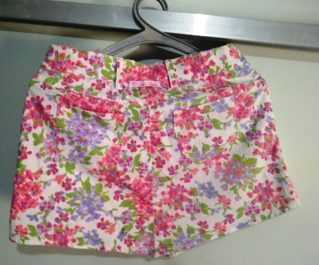 Mini Saia Floral Tamanho 16 - Foto 2