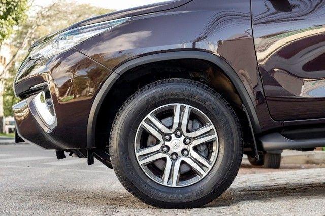 Toyota hilux sw4 4x2 srv flex 2018 automatica *IPVA 2021 PAGO* - Foto 18