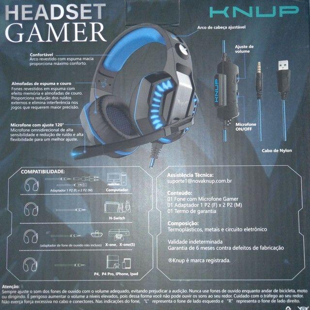 Headset Gamer Kp-491 Xbox Ps4 Pc Celular Smartphone - Foto 2
