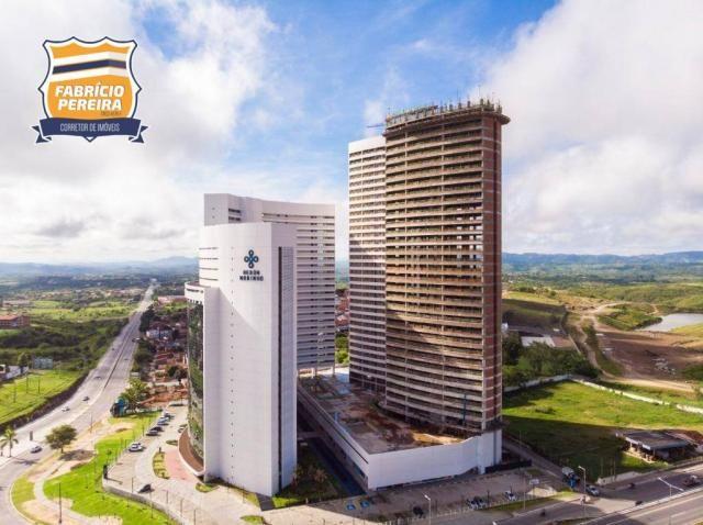 Apartamento com 3 dormitórios para alugar, 96 m² por R$ 1.900/mês - Mirante - Campina Gran - Foto 3