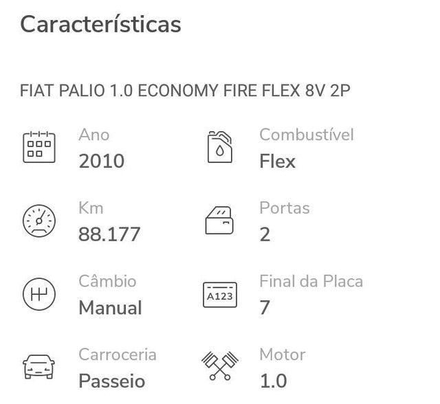 Fiat Palio 1.0 21mil - Foto 5