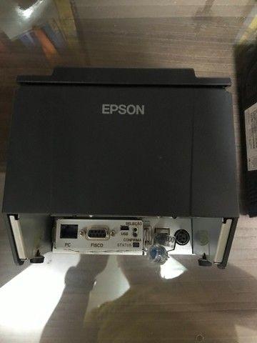 Impressora Fiscal ECF Epson TM-T81F - Oportunidade - Foto 3