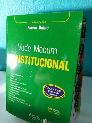 Vade Mecum Constitucional para Exame de Ordem - Flávia Bahia - Foto 2