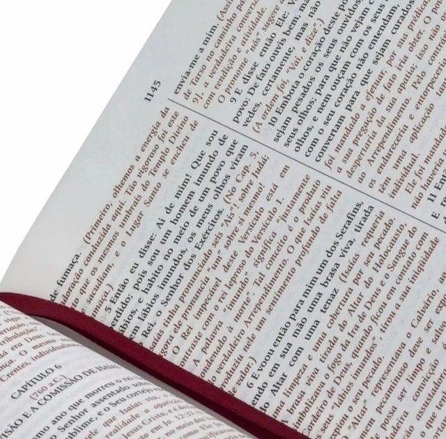 Bíblia do Expositor Versículo por Versículo. - Foto 2