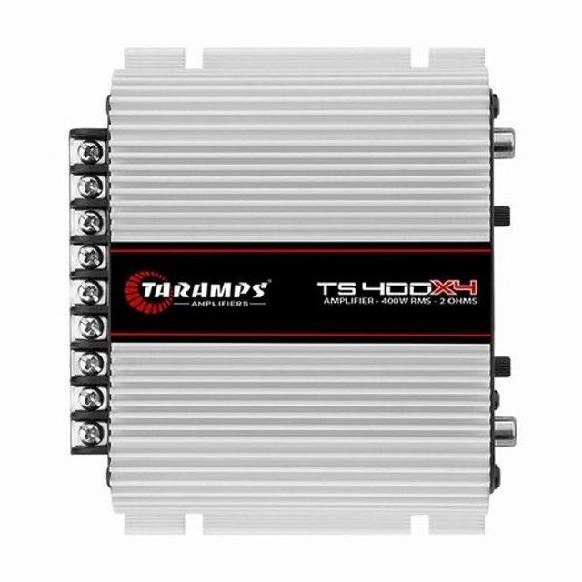 Módulo Taramps TS400X4 + acessórios