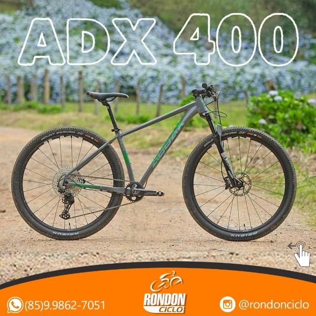 Bike Audax ADX 400 - Nova