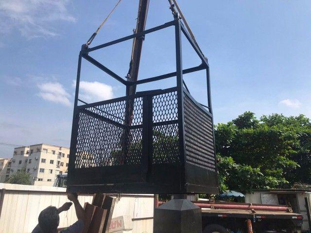 Vendo cesto de elevação ZAP * - Foto 4