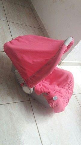 Bebê conforto galzerano 70.00 falta só um cinto - Foto 2