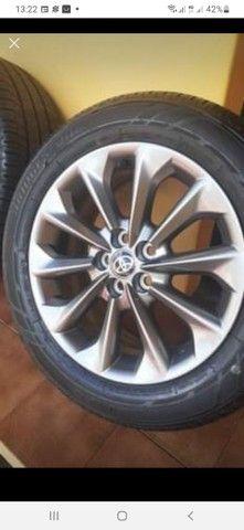 Jogo de roda com os pneus zerado  - Foto 2