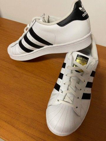 Tênis Adidas Superstar - novo - Foto 3